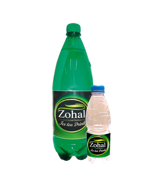 Lemon Iced Tea flavored Carbonated drink - (Zohal) Herbal