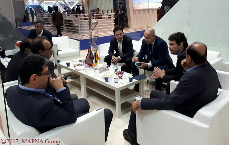 MAPNA Group Showcases Capabilities in Middle East Rail 2017