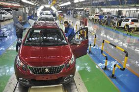 Peugeot 2008 on IKCO's Production Line
