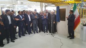 افتتاح خط إنتاج سيارات سمند في سمنان