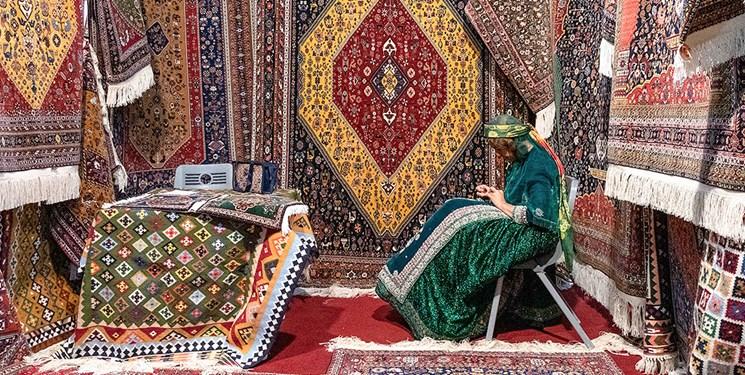 نوسانات صادرات فرش ایران در 6 سال اخیر