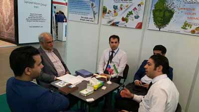 "The participation of ""Masterfoodeh"" in the exclusive exhibition of Islamic Republic of Iran in Russia"