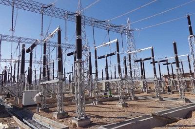 75 percent progress in No. 2 high-voltage substation project
